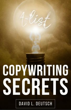 David Deutsch A-List Copywriting Secrets book cover