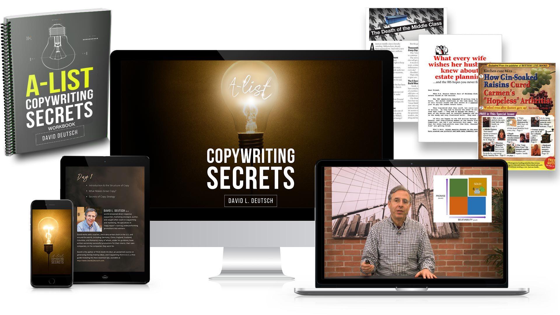 A-List Copywriting Secrets Products