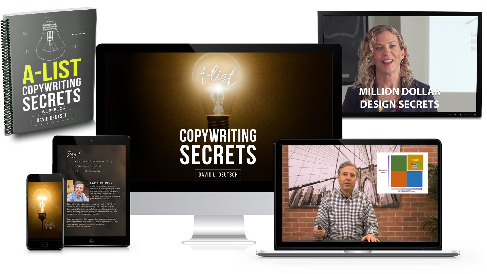 A-List Copywriting Secrets Package